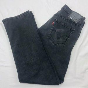 Levis 514 black jeans 32 x 32
